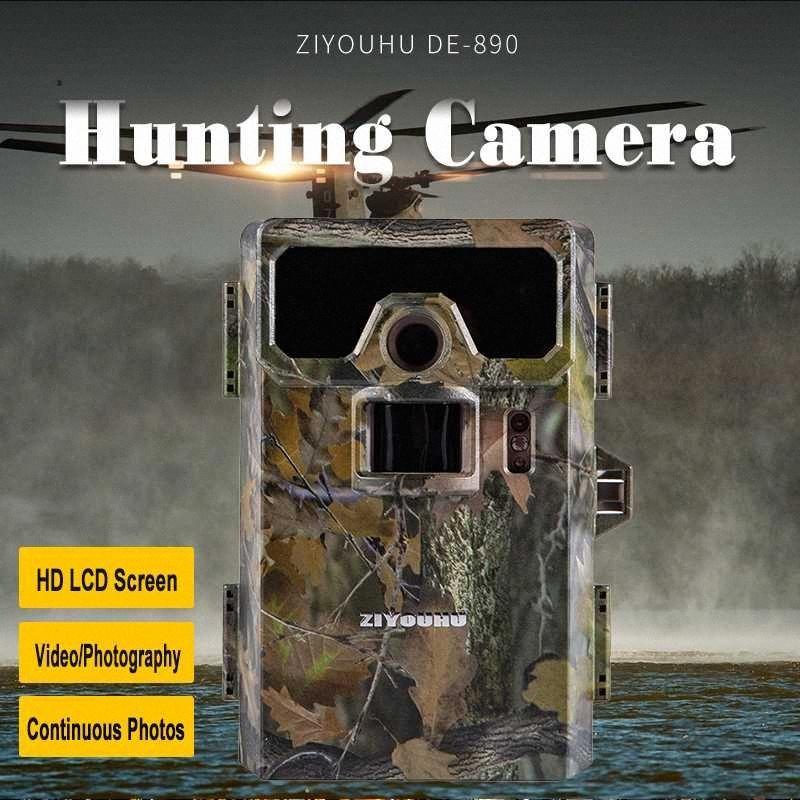 Vahşi Gözlem Gündüz Gece Monitör LGDv # için ZIYOUHU 2 LCD Ekran Görüntü Video Kayıtları Dijital Kızılötesi Av Kamera