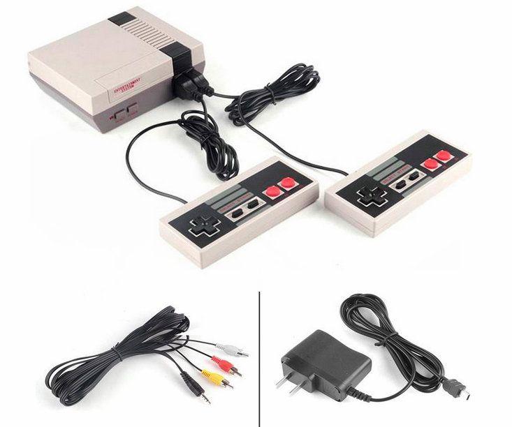 Dernier né Mini TV SAUVEGARDEZ 620 Console de jeux vidéo de poche pour NES Jeux Consoles Avec Retail Box Livraison gratuite
