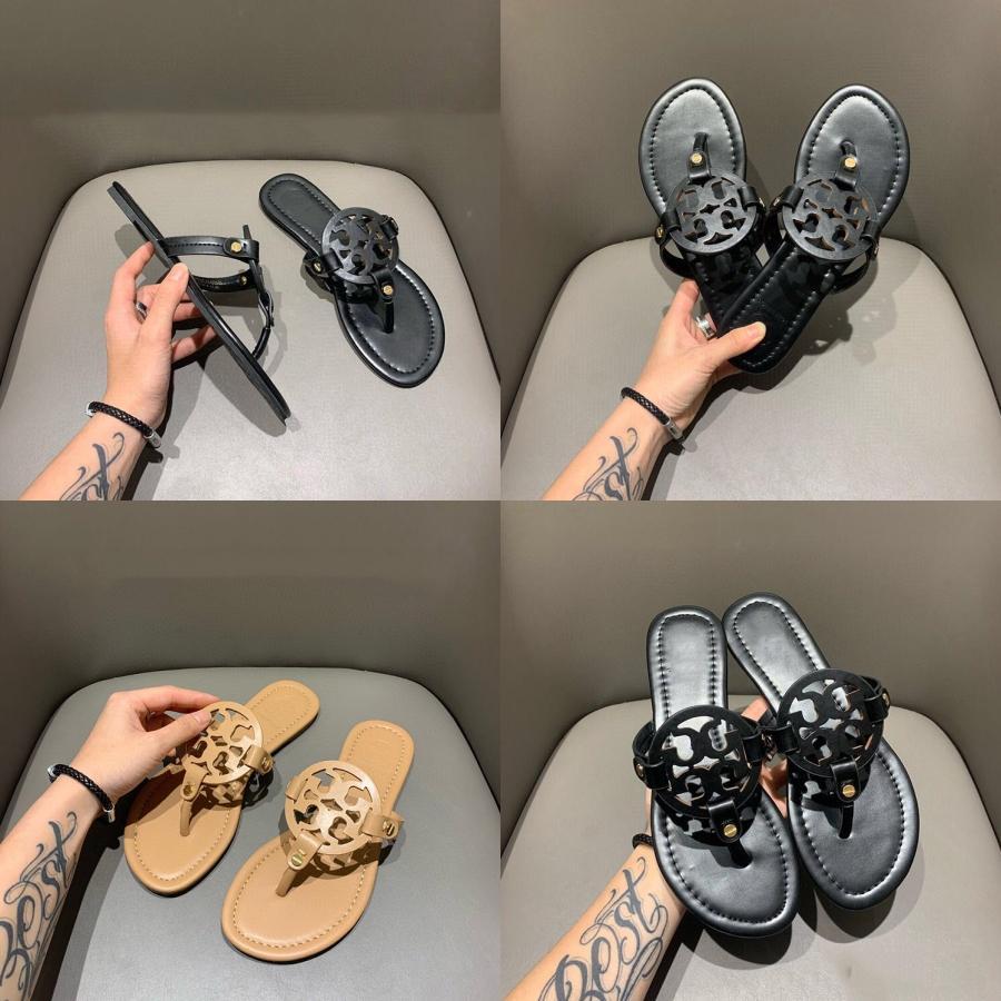 Chaussons 2020 Eté Automne Nouveau femmes Casual Cristal Solide Roman taille plus plat Pantoufles Sandales Chaussures femmes Chaussures Lettre # E # 260