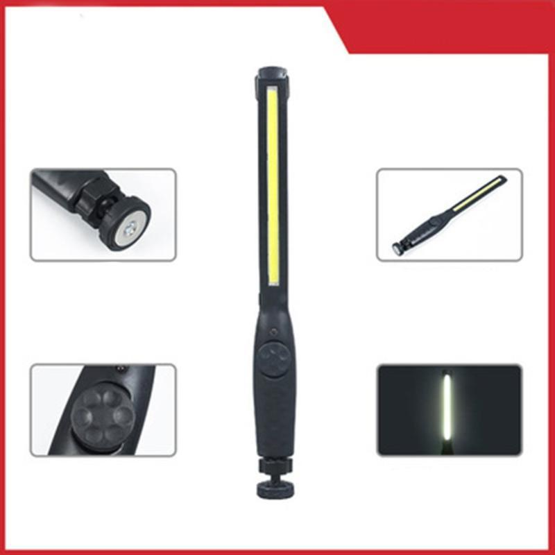 Portable COB LED Rechargeable Adjustable LED Work Light Inspection Lamp Garage Light Hanging Torch Lamp