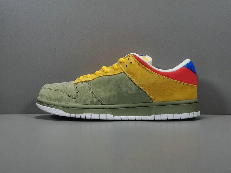 Nuova esclusiva Low Premium SB Athletic Shoes Designer Oli Verde Internazionale Blu Moda Sport Sneakers alta qualità della nave con la scatola