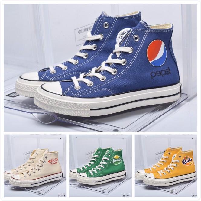 Mens Wear 1970 Scarpe Pepsi Big Eyes Chuck 70 Multi Cuore '70 Hi tela classiche 1970 Nome comune dei skateboarder pattini casuali delle donne
