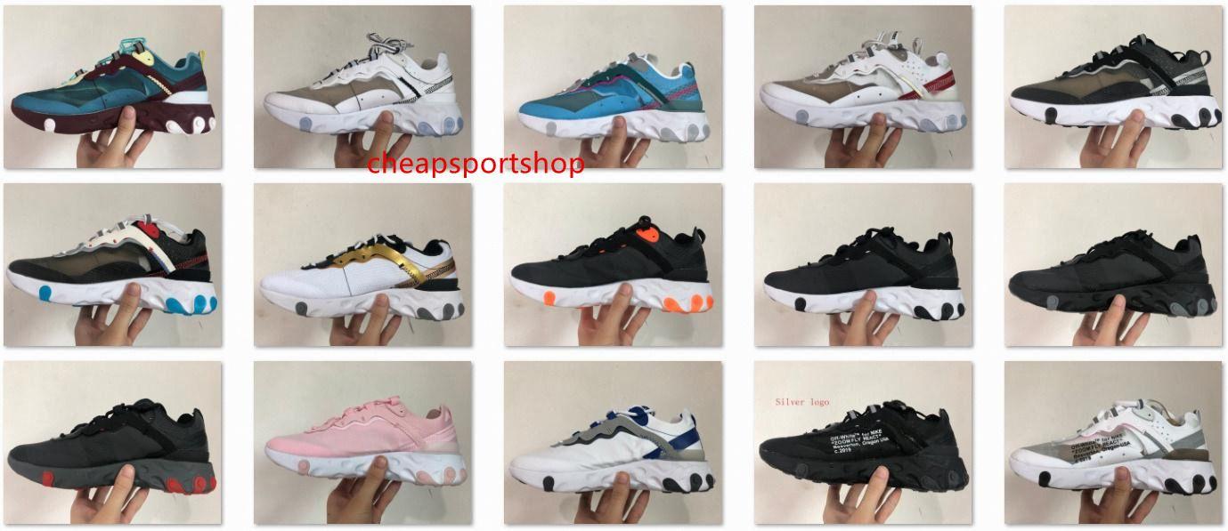 2019 marca de qualidade épica Reagir Elemento próximos reação elementar 87 homens mulheres disfarçados de designer correndo sneakers 55 87f0a8 #