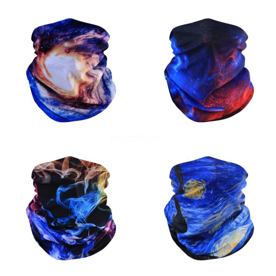 Deportes mágica del pañuelo de seda del hielo Bufanda de ciclo máscara máscaras de protección solar de verano transpirable multifuncional cara descubierta Stock # 225 # 142