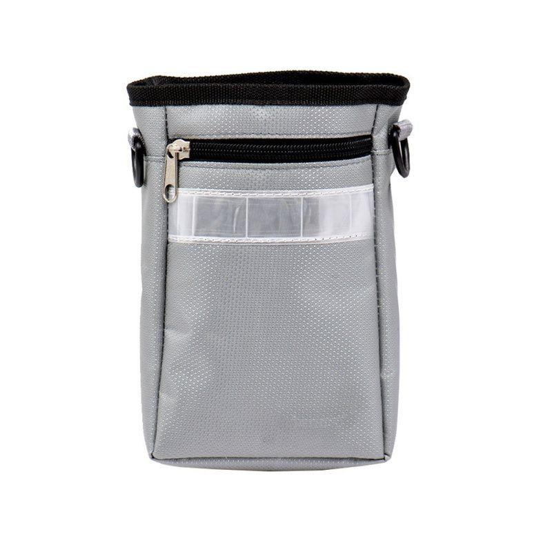 Außen verstellbaren Gürtel Chalk Bag Kletter Gymnastik Kletterer Chalk Bag Mit Drawstringschliessen
