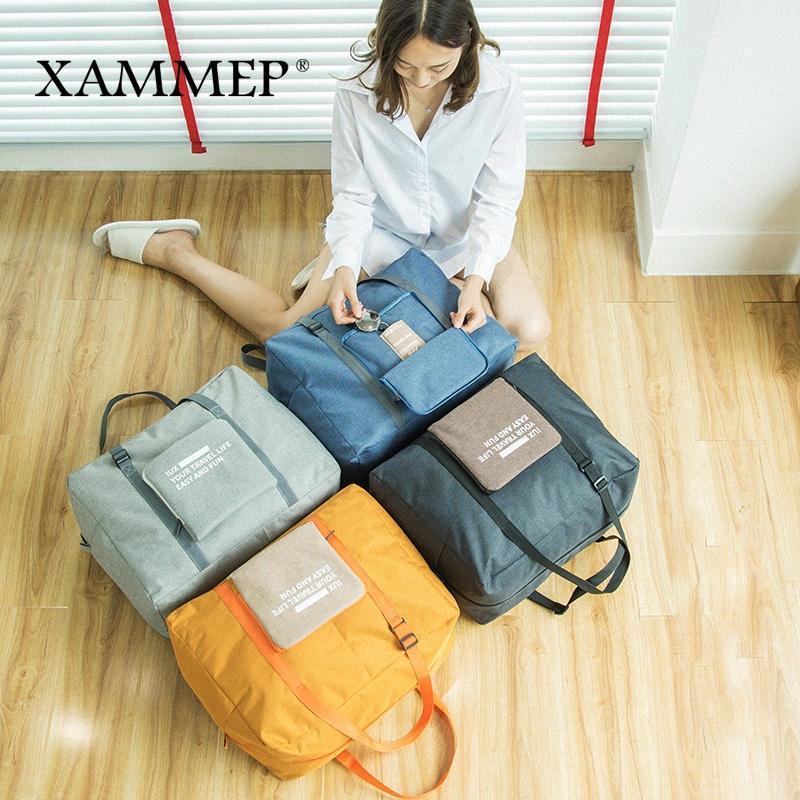 Speicher-Beutel Reisetaschen Portable Storage Männer Frauen Clothing Organizer Oxford Große Spielraumduffle Wasserdicht Xammep LZhY #