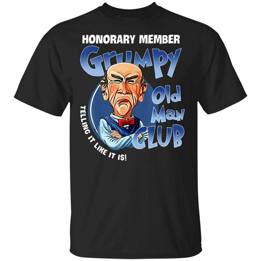 Membro Onorario Grumpy Old Men Club T-shirt Taglia S-3XL Personalizza Tee Shirt