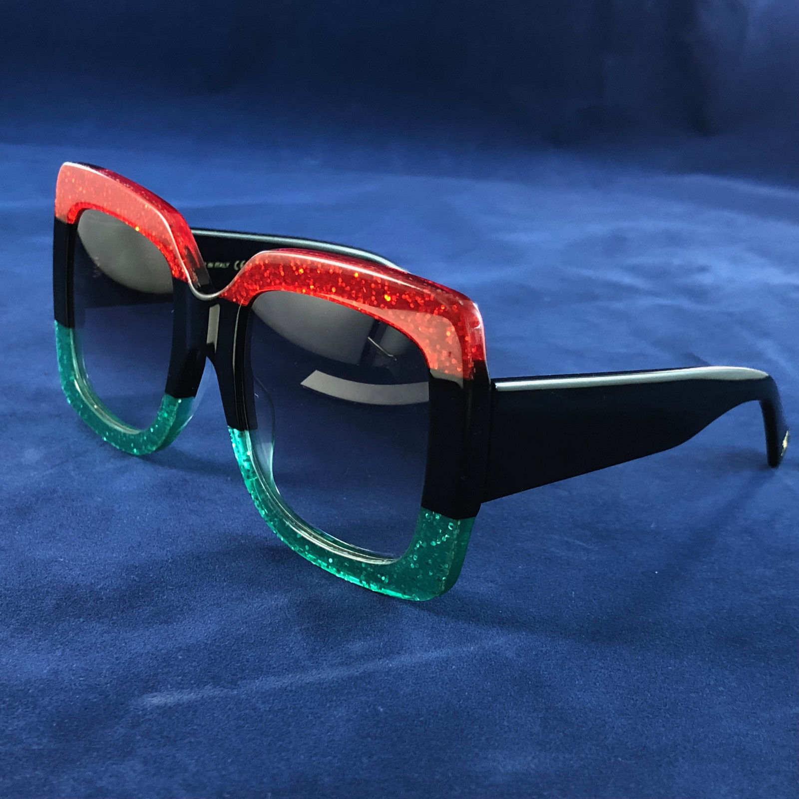 0083 Популярных солнцезащитных очки Роскошных женщин Марк Дизайнер 0083S Square Summer Style Full Frame верхнее качество Защита от ультрафиолетовых лучей смешанного цвета Come With Box