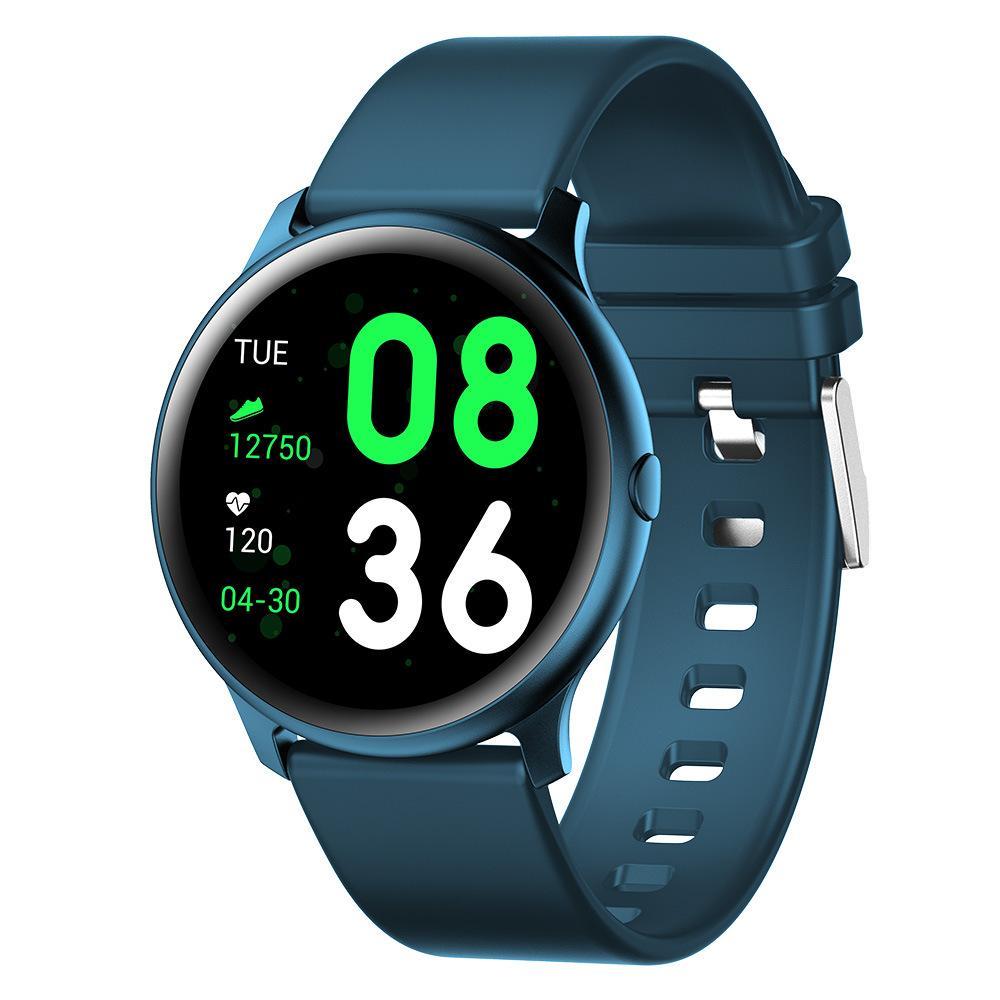 سمارت ووتش رجال لمس كاملة SREEN سوار رسالة تذكير رصد معدل ضربات القلب الرياضة ساعة ذكية للياقة البدنية المقتفي لالروبوت IOS الهاتف