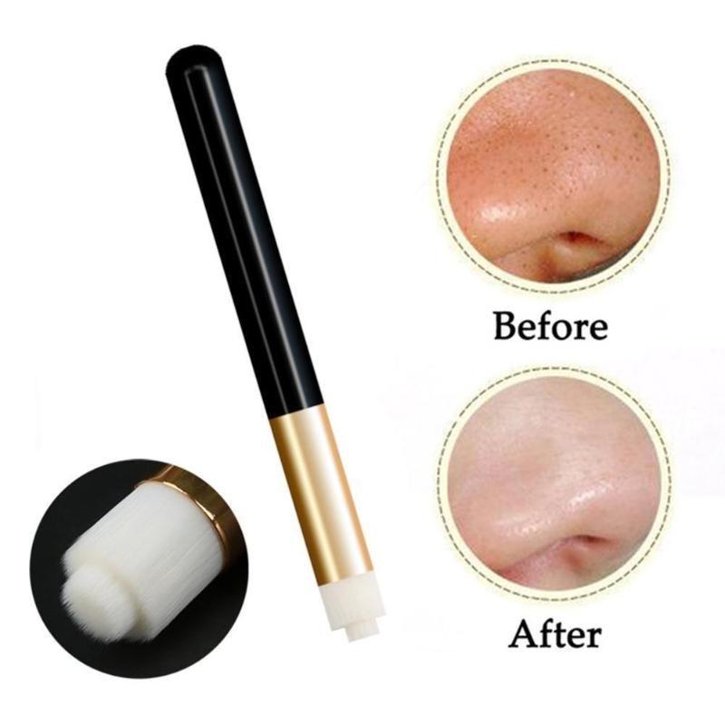 Escova de limpeza profissional cílios Lash Shampoo Escova de limpeza Ferramentas de Beleza nariz pele maquiagem sobrancelha Blackhead Br L5E6