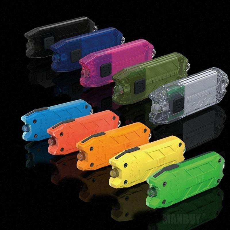 NITECORE Tube Portable Light Micro USB Rechargeable Pocket Waterproof Mini Size Light Weight ful Key Lamp NEGd#