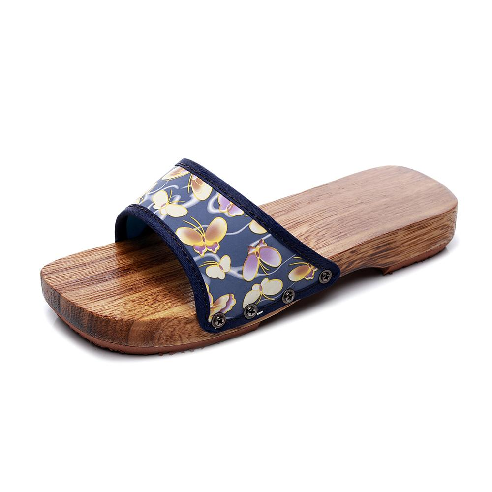 New Unisex Paulownia Wooden Japanese Traditional Geta Clogs Man Naruto Ninja Cosplay Shoes Flip Flops Outdoor Sandals Wooden Clogs for Women