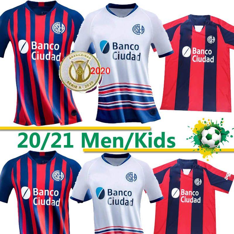 Таиланд San Lorenzo футбол Джерси 2020/21 # 10 # 92 ROMERO ПОБАЕТ Bareiro Футбол Равномерного Mens # 38 GAICH FERNANDEZ B.PITTON рубашка 20 21