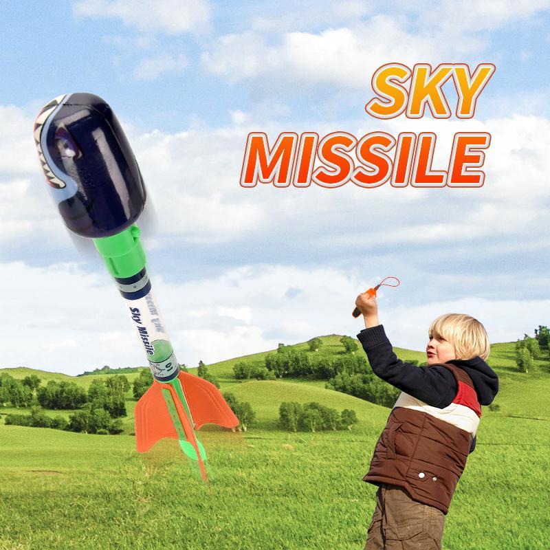 TW2005131 PU Cupola Spielzeug über 30M Schießstand Soft-Nose Cone Himmel Missile