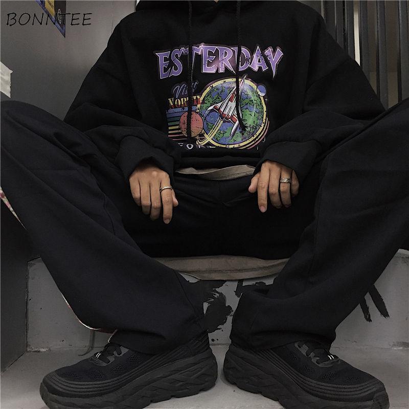 E-baihui Hoodies Homens Oversize 3XL velo espessamento All-jogo Kpop Mens Moletons casais diárias hip-hop Casais Causal Chic BF ulzzang