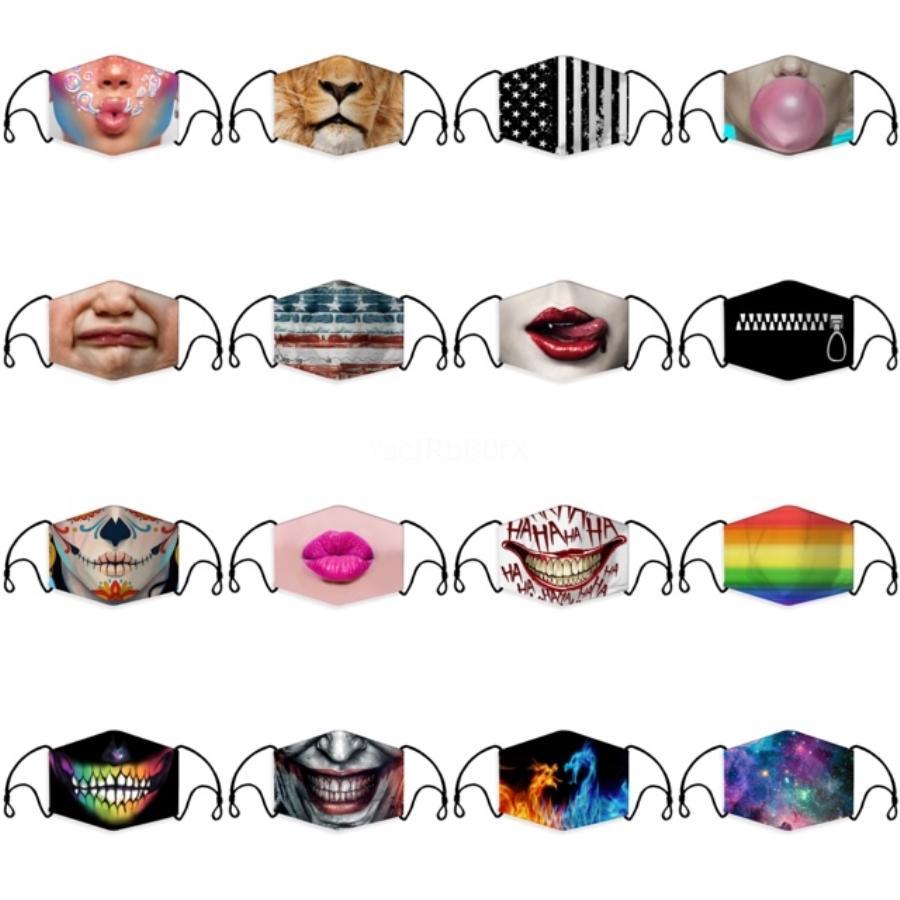 Kadınlar Lüks Pullu Maskeler Toz Korumalı Nefes Yıkanabilir Yeniden kullanılabilir Yüz İçin 2020 Yeni Moda Maskeleri # 873 Ücretsiz Kargo Maske
