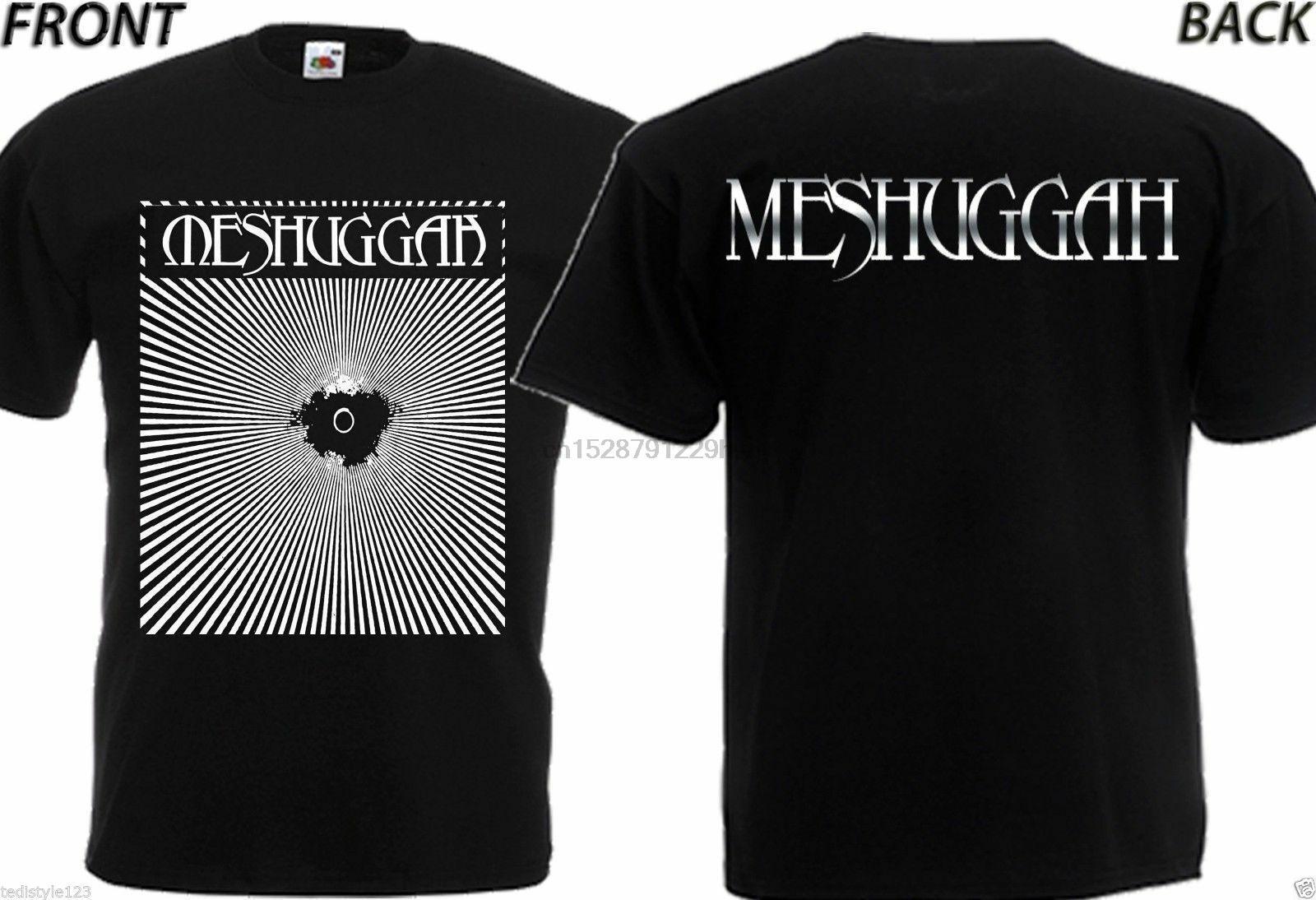 New Dtg Druck T T-Shirt Meshuggah -SMLXlXxl3Xl4Xl5X