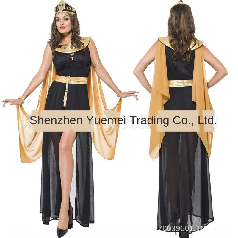 Ancient Acting Egyptian pharaoh costume movie role-playing costume women's clothing new Halloween cosplay game clothing