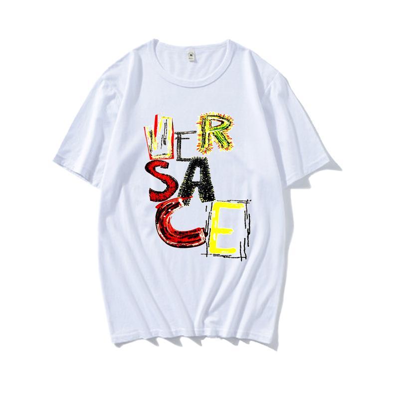 2020 Designer camisetas Homens Moda Verão Camiseta Rua Mulheres Marca Camiseta de luxo unissex Tops alta qualidade