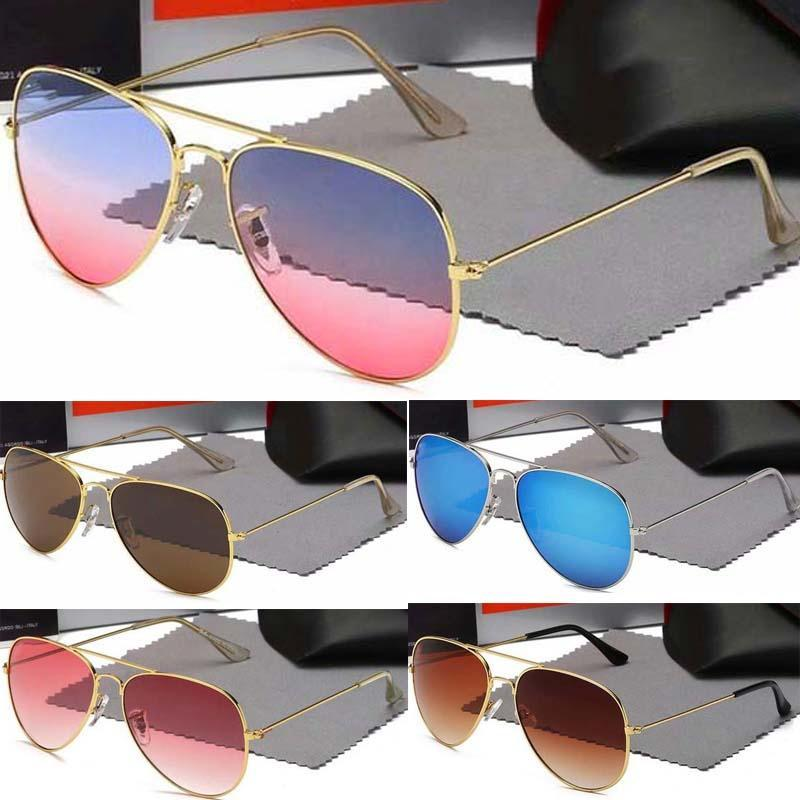 3025 Mann-Sonnenbrille Aviator Vintage-Pilot Marke Sun-Glas-Band polarisiert UV400 Frauen-Sonnenbrille Wayfarer 2019 2 91dx #