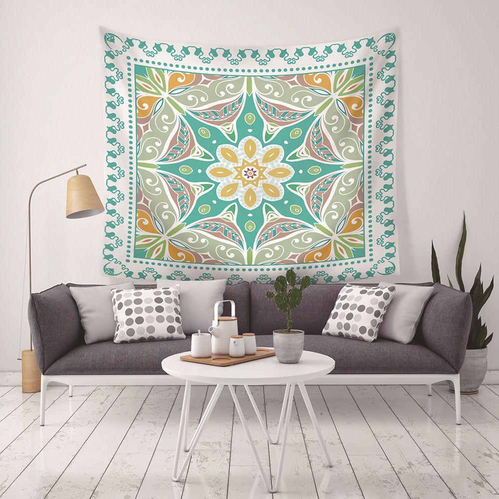 Новое прибытие 9 Стили Bohemia Home Decor Гобелены пляжное полотенце кемпинга одеяло простыня Скатерть с LED