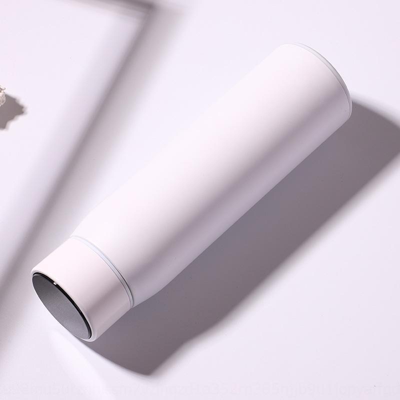Akıllı Yeni İnternet ünlü ekran led sıcaklık algılama dokunmatik sıcaklık reklam hediye Termos bardak termos bardak