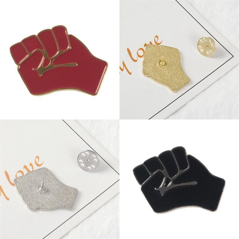 Bolsa Sombrero de ropa solapa broches Proponer Unite Puño Pin Broche Metales Camisa Accesorios exquisito y duradero 1 68zb E2