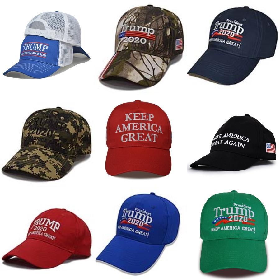Donald Trump Snapback 2020 EUA Presidente Mantenha América Grande Baseball Caps Verão Cotton Outdoor ajustável Hat DDA155 # 128