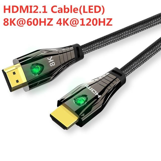 Consumer Electronics 2.1 cable 4K 120HZ High Speed 8K 60 HZ UHD HDR 48Gbps cable HDMI Ycbcr4:4:4 Converter for PS4