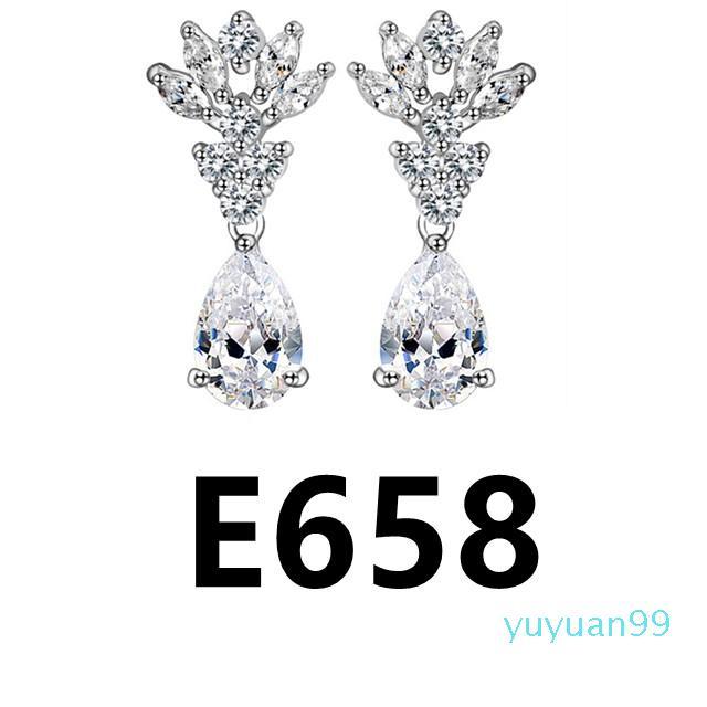 lusso- E657-E677 più nuove donne di goccia classico orecchini per le donne ragazza Vintage