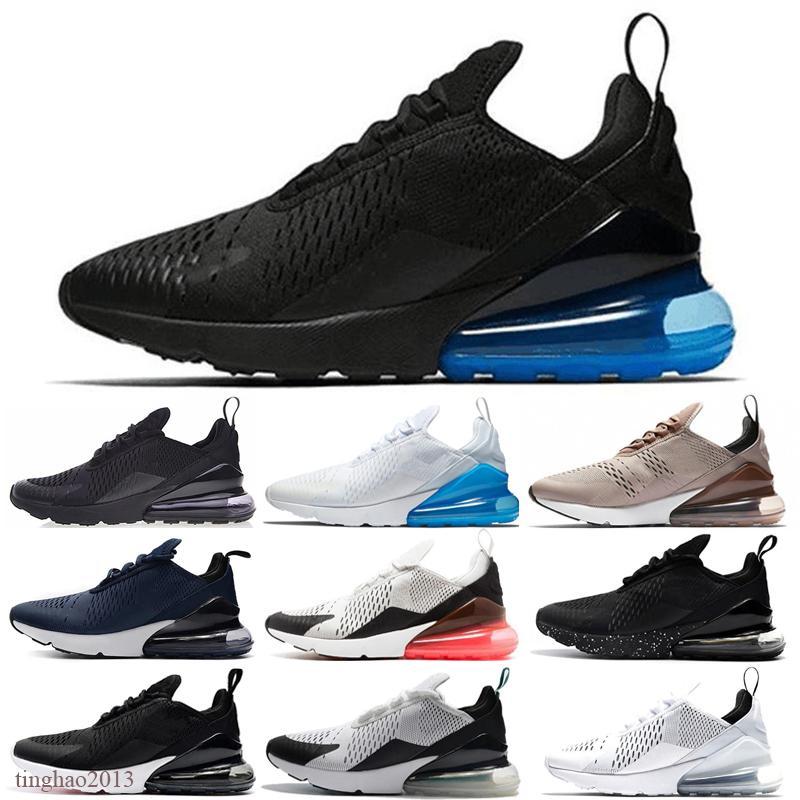 Nike air max 270 2020 nouvelles Bred Platinum Hommes Femmes Chaussures Triple Université Blanc Noir Rouge Tigre bleu olive Void sport HOMME Baskets Chaussures Sneakers
