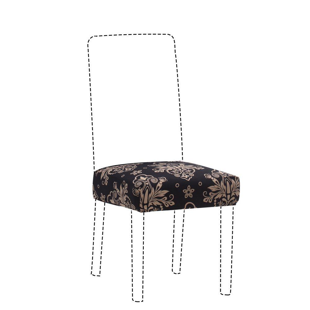 Estiramiento suave cubierta de la silla grande elástica recubre la silla del asiento Pintura Fundas restaurante de banquetes del hotel anti-sucia extraíble 2019