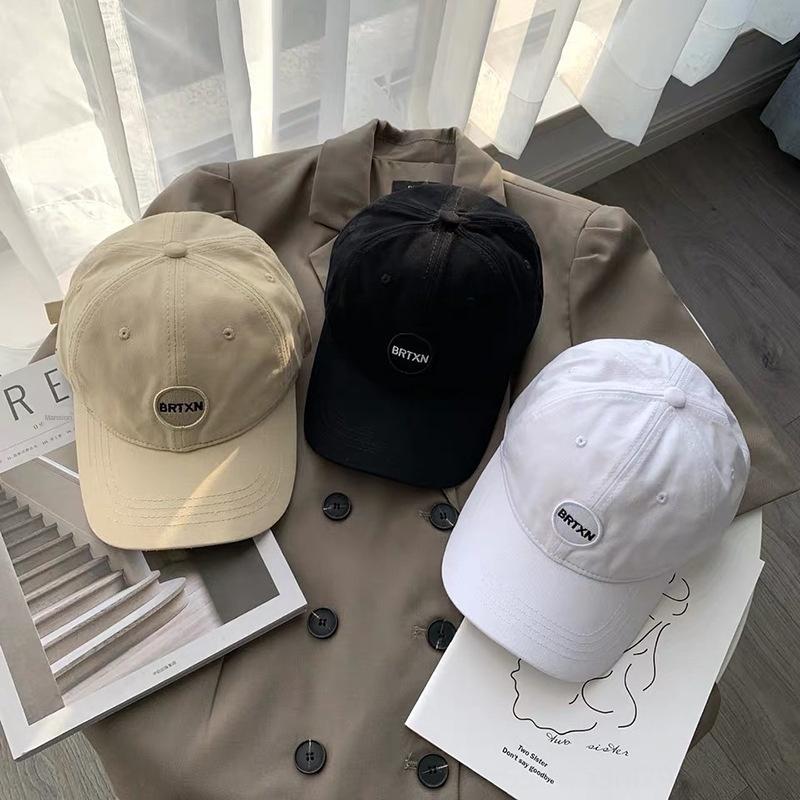 ins lettera rete rossa morbido berretto da baseball berretto da baseball superiore protezione solare alla moda coreano del cappello protezione solare casuale cappello femminile