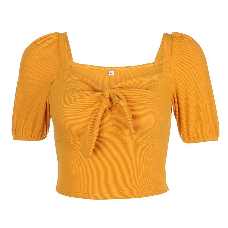 Jazz Costumes Lady Slim Bandage Short Sleeve Tops Hip Hop Dance Clothes Nightclub Club DJ DS Dance Performance Show Wear DT2496