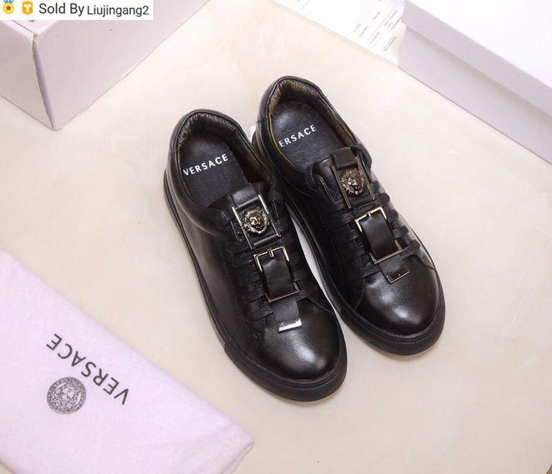 Liujingang2 6210 610 весенних и летние моделей с кожаной пряжкой верхнего ремня случайных новых черными Пряжки шнурки Мокасины Драйверов Кроссовок