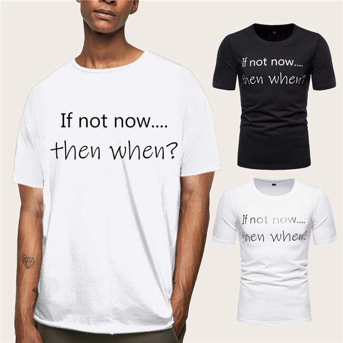 Más el tamaño para hombre camisetas patrón de la letra verano ocasional manga corta T Shirts O Cuello suelta los hombres del diseñador de las tapas