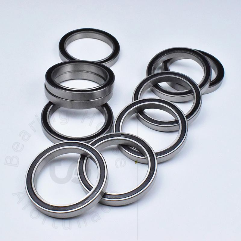 BAIJIAXIUSHANG 6809RS 6810RS 6808RS 6806RS Bearing 10Pcs Slim Thin Section Deep Groove Ball Bearings 6809 6810 6808 6806 2RS Size : 6809RS 45x58x7mm