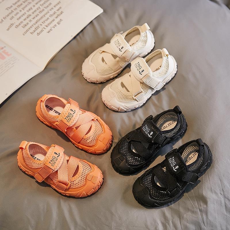 2020 nuovi silicone leggero inferiore molle resistenti all'usura sport respirabili magici sandali scarpe sportive scarpe adesivo per bambini magici