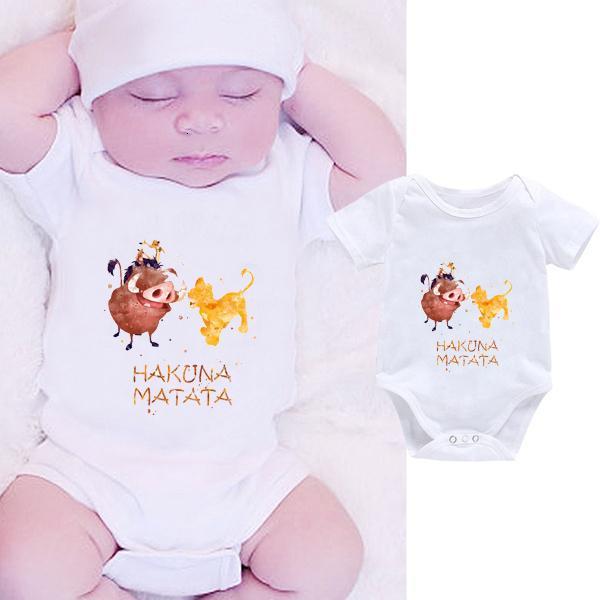 DERMSPE 2019 Verano divertido mono infantil recién nacidos muchachas de los bebés letra de la impresión del mono hermosos niños ropa de la historieta