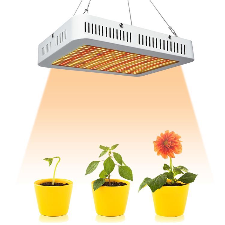 LED Bahçe Çiçeklenme LED Işık büyütün Büyüyen Hafif 1000W Samsung 5730 3500K LED Tam Spektrum Sera hidroponik İçin Kapalı ışık büyümek