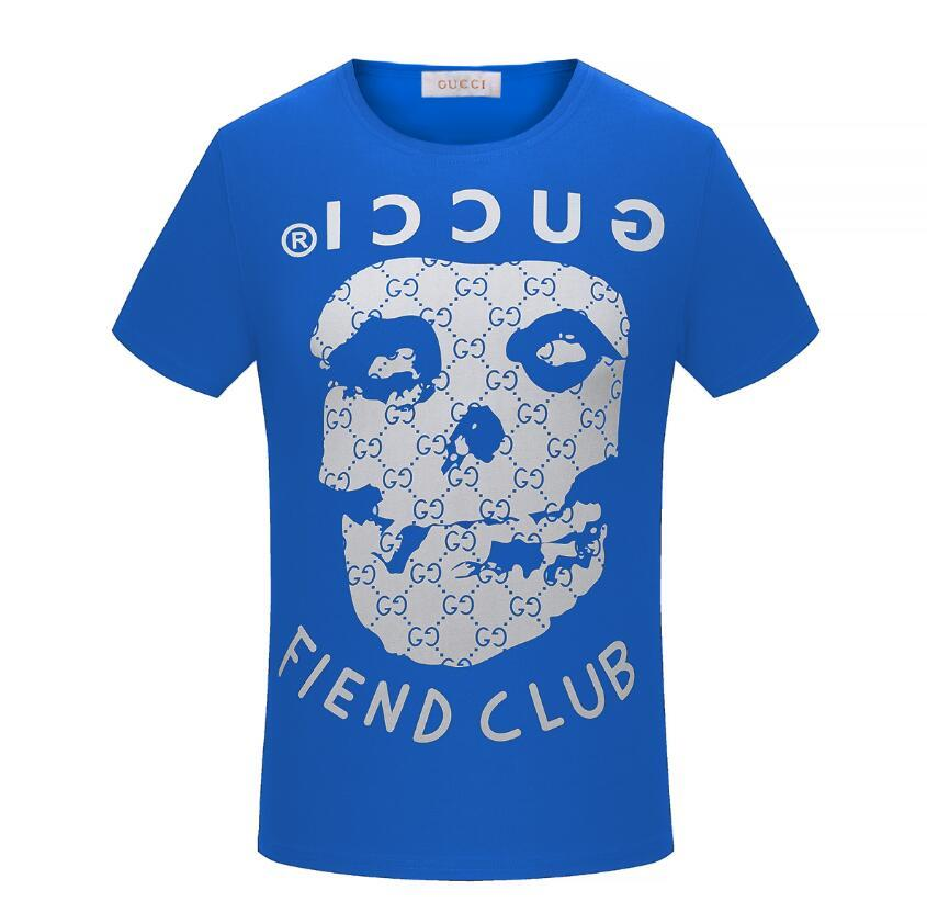 Mode für Männer T-Shirt neuen Sommer Kurzarm oben europäischen amerikanischer populären Druck T-Shirt Männer Frauen Paare hochwertiges T-Shirt