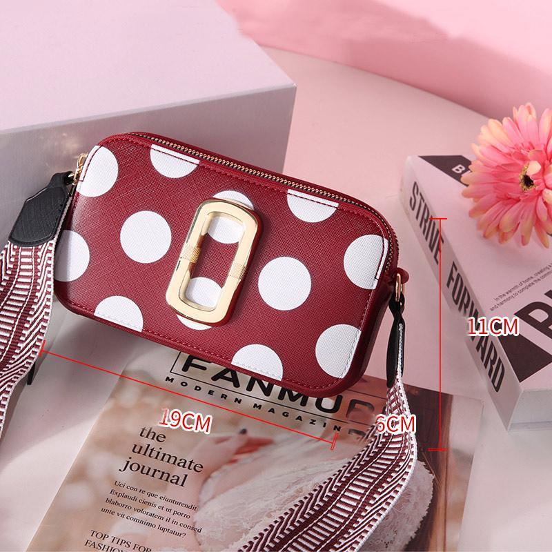 dames design sac photographie design sac à bandoulière de haute qualité sacs mode large sac photo bandoulière sacs personnalité de tendance des jeunes