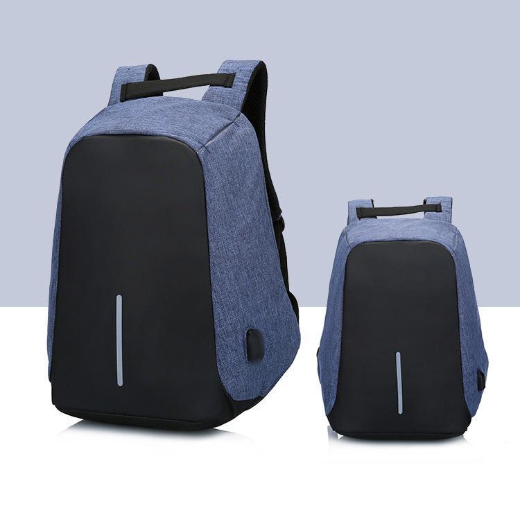 Mochila para portátil unisex Colegio Bolsa adapta hasta 15 pulgadas portátil Casual Mochila impermeable Mochila Escolar Daypacks