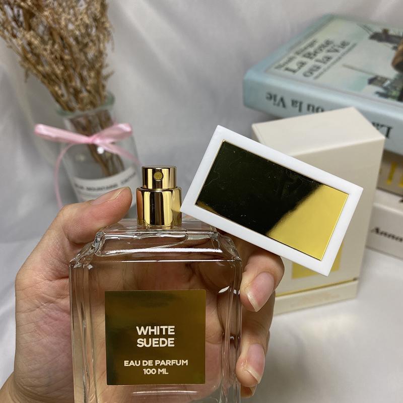 2020 прибытия женских духов White бутылки белого мускус 100мл Аромат розовых бутылки Сладких и свежий парфюм долговечны фруктового аромата EDP