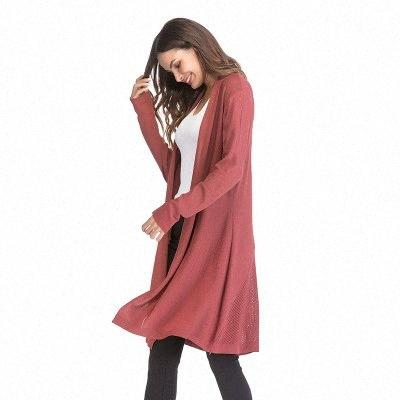 Autumn Winter Knitted Maternity Sweaters Dress Clothes for Pregnant Women Fall Elegant Pregnancy Sweaters coat Sdzm#