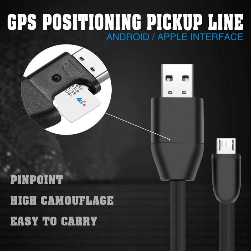 Устройство 1м Автомобильный GPS трекер слежения за автотранспортными средствами автомобиля питьевой Micro USB кабель в режиме реального времени GSM / GPS слежения Кабель зарядки Позиционирование