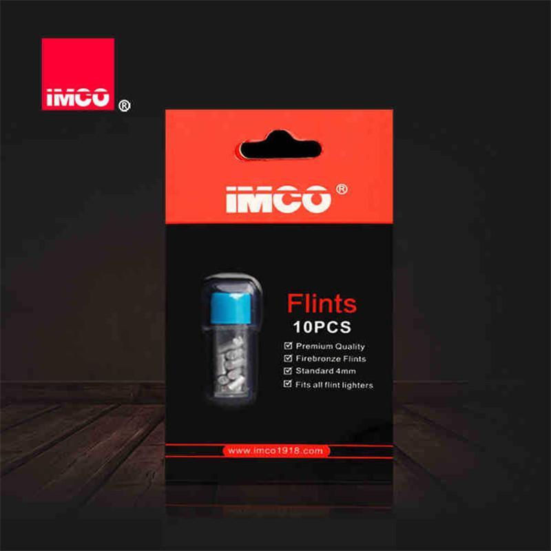 10 pcs original imco strints flints pour essence essence de remplacement des briquets de distributeur de remplacement d'incendie authentique