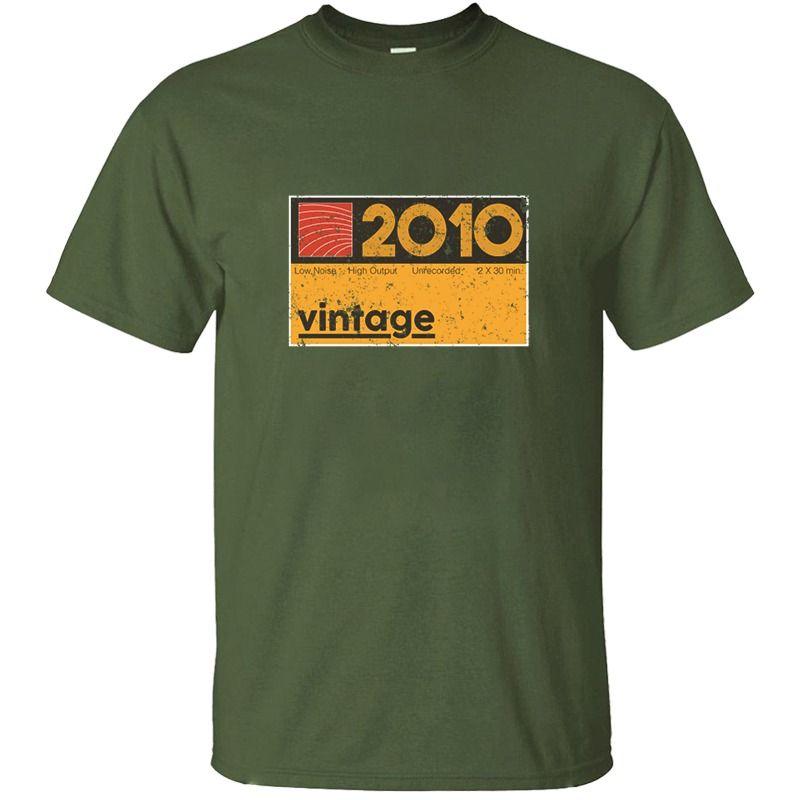 Çılgın Hediye İçin Müzik Yapımcı 010 Vintage Kaset Tişörtlü Adam Pamuk Siyah Müthiş Yetişkin Tişörtler Kısa Kollu Üst Tee