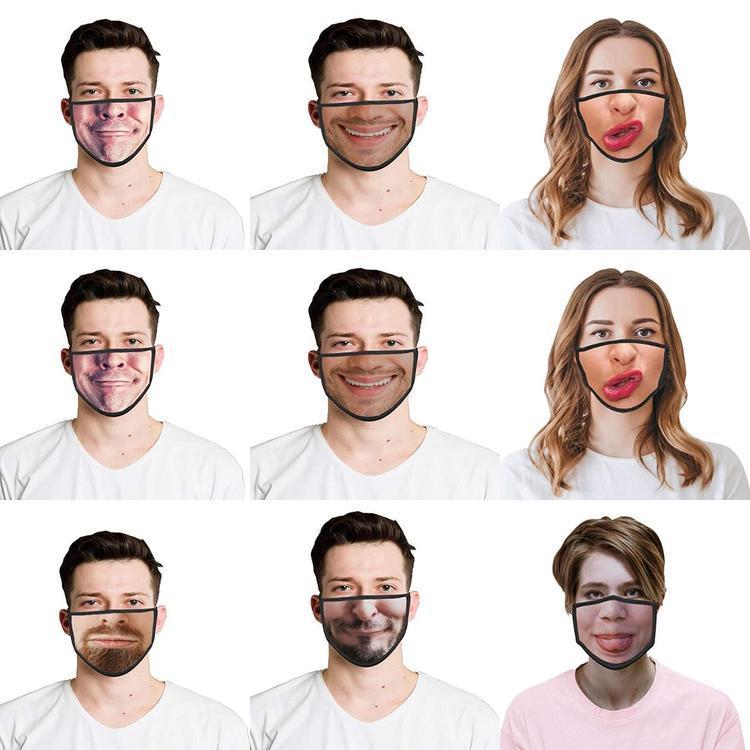 Uk Kargo Unisex Yıkanabilir Komik Hayvan Pamuk toz geçirmez Maskesi Yaratıcı Baskılı Yüz Maskeleri Uk sVXEK best_dhseller Koruyucu Yüz Maskeleri Maske