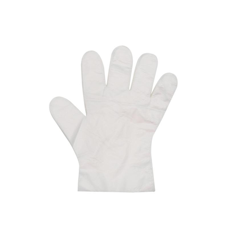 Caldo! ! Guanti! 1PCS monouso PE spessi sezione di pulizia guanti guanto universale della casa Giardino Rubber Glove